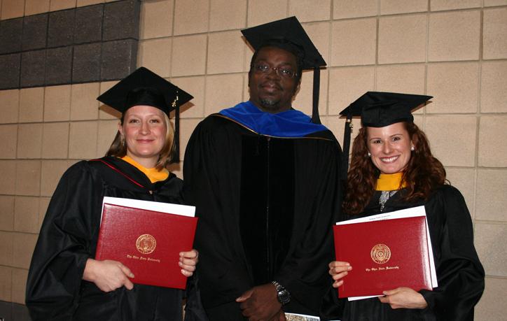 L to R: Daisy D'Angelo, Pierce Paul, Kelsey Andersen