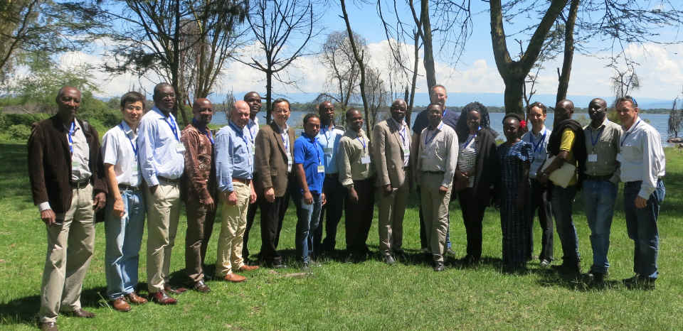 Project participants from the US, UK and African countries at the annual review meeting on June 4th- 7th 2015, Naivasha, Kenya