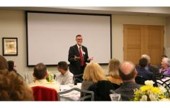 Bruce McPheron, CFAES Staff Award Banquet