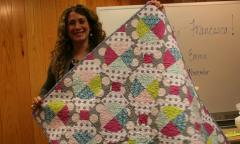 Dr. Niblack's gift baby quilt