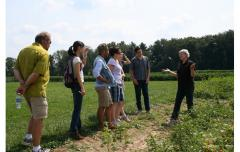 Vegetable fields with Sally Miller