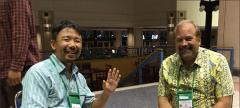 Mizuho Nita and Lee Wilson