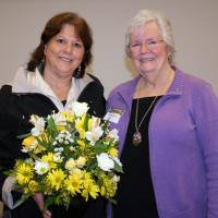 Laurel Leedy CFAES Shirley Brooks Jones Citizenship Award