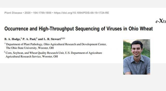 Sequencing of Viruses in Ohio Wheat