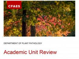 Academic Unit Review