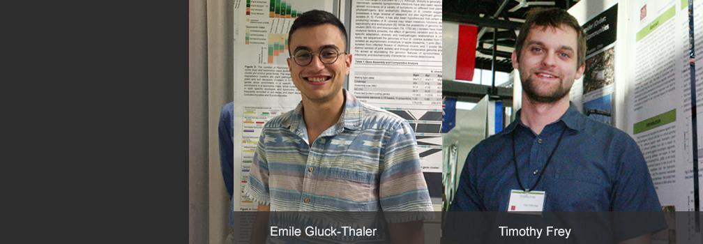 Emile Gluck-Thaler and Timothy Frey
