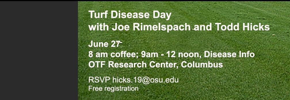 Turf Disease day